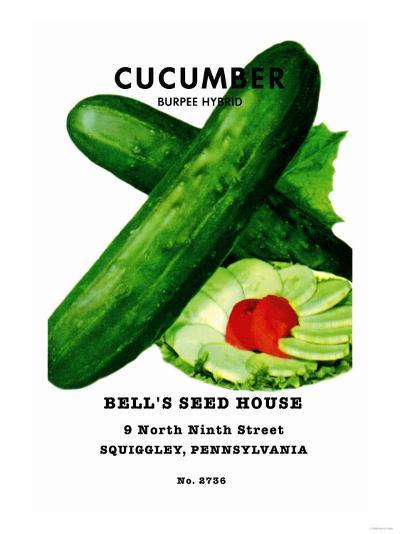 Cucumber: Burpee Hybrid--Art Print