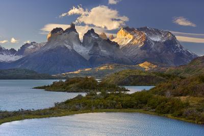 Cuernos Del Paine Mountain Scenery Encompassing--Photographic Print
