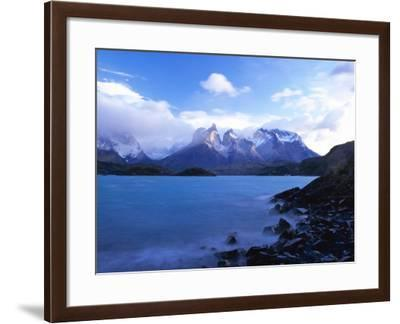 Cuernos Del Paine, Torres Del Paine National Park, Patagonia, Chile, South America-Gavin Hellier-Framed Photographic Print