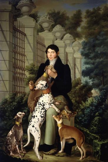 Cuidador De Los Perros De Aranjuez-Francisco Lacoma Y Fontanet-Giclee Print