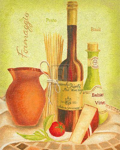 Cuisine du Monde III-Sophia Sanchez-Art Print
