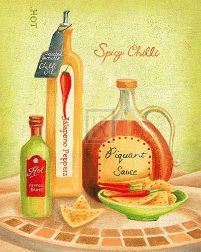 Cuisine du Monde IV-Sophia Sanchez-Art Print