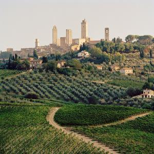 San Gimignano, a UNESCO World Heritage Site in Tuscany, Italy. by Cultura Travel/Philip Lee Harvey