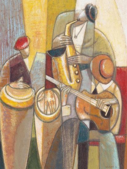 Cultural Trio 1-Norman Wyatt Jr^-Art Print