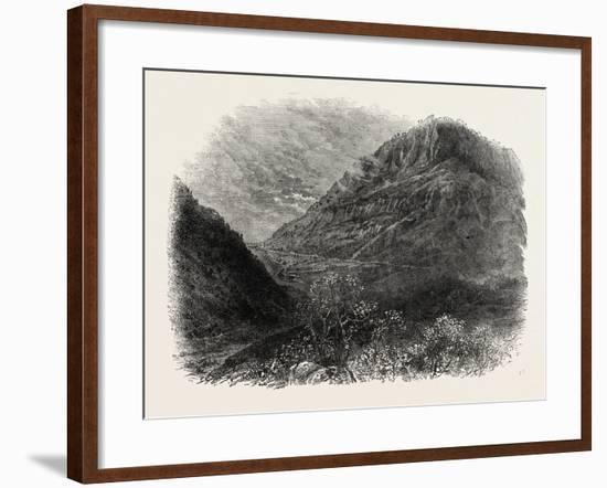 Cumberland Gap, USA, 1870s--Framed Giclee Print