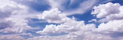 Cumulus Clouds in the Sky, Nevada, USA