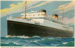 Cunard Britannic, Ocean Liner