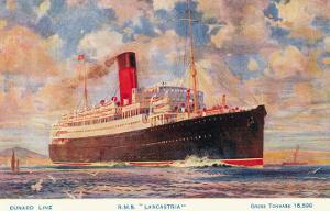 Cunard Lancastria, Ocean Liner