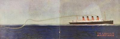 Cunard Line Promotional Brochure for 'Mauretania' C.1930--Giclee Print