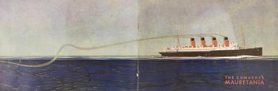 Cunard Line Promotional Brochure for 'Mauretania' C.1930