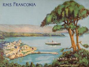 Cunard Line Promotional Brochure for the R.M.S 'Franconia' C.1926-30