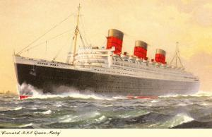 Cunard Queen Mary, Ocean Liner