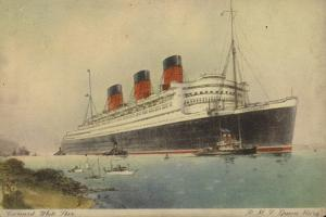 Cunard White Star Line Liner RMS Queen Mary
