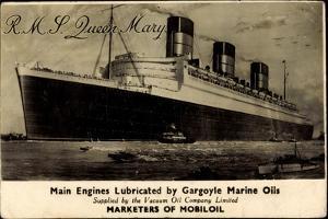 Cunard White Star Line R.M.S. Queen Mary