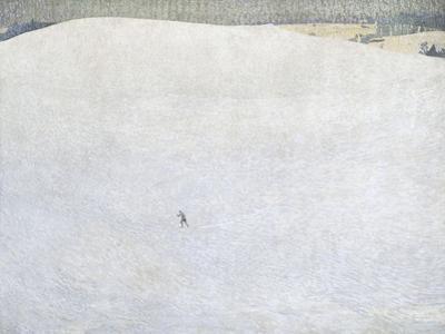Schneelandschaft (paysage de neige) dit aussi Grosser Winter (Grand hiver)