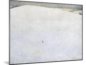 Schneelandschaft (paysage de neige) dit aussi Grosser Winter (Grand hiver) by Cuno Amiet