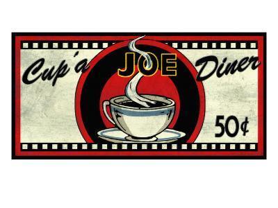 Cup 'a Joe Diner-Kate Ward Thacker-Giclee Print