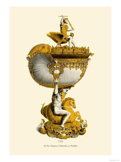 Cup in Her Majesty's Collection at Windsor-H. Shaw-Art Print