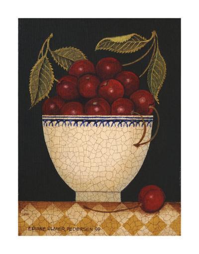 Cup O Cherries-Diane Ulmer Pedersen-Art Print