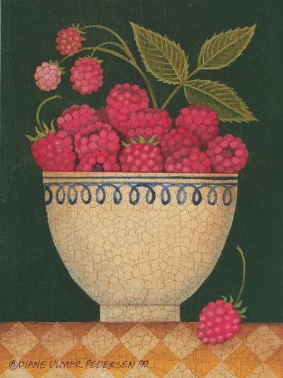 Cup O' Raspberries-Diane Pedersen-Art Print