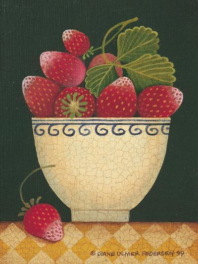 Cup O' Strawberries-Diane Pedersen-Art Print