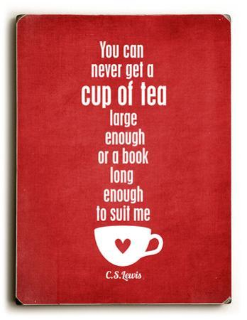 Cup of Tea-red