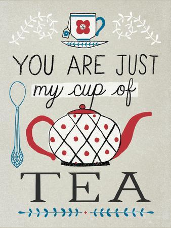 Cup of Tea-Oliver Towne-Premium Giclee Print
