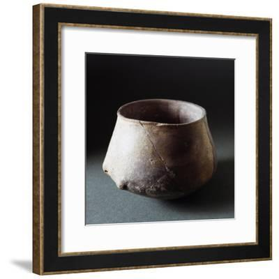 Cup with Convex Base, from Pescale Near Modena--Framed Giclee Print
