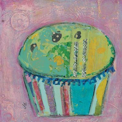 Cupcake Ii (Green Icing)-Julie Beyer-Art Print