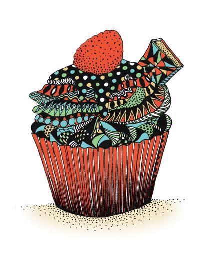 Cupcake-Patricia Pino-Art Print