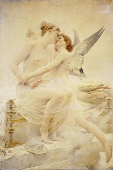 Cupid and Amor-Lionel Noel Royer-Giclee Print