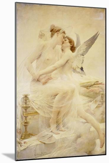 Cupid and Amor-Lionel Noel Royer-Mounted Giclee Print