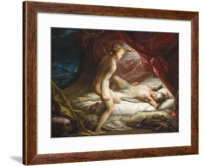 Cupid and Psyche-Vincente Carducho-Framed Giclee Print