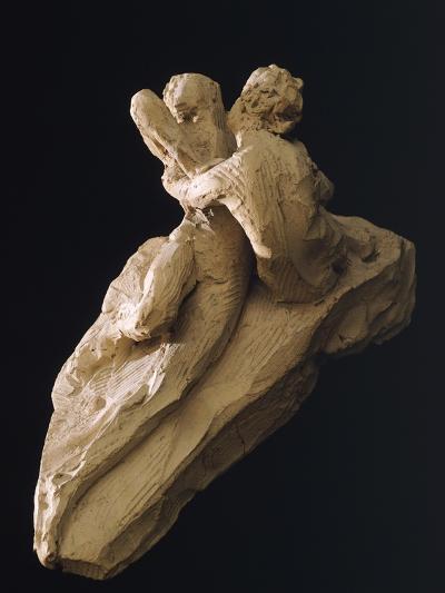 Cupid and Psyche-Antonio Canova-Giclee Print
