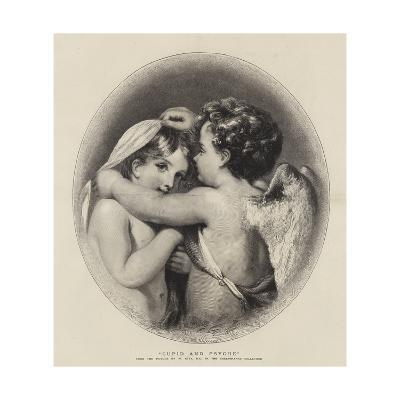 Cupid and Psyche-William Etty-Giclee Print