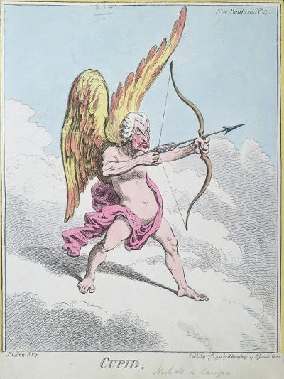 Cupid, Published by Hannah Humphrey in 1799-James Gillray-Giclee Print