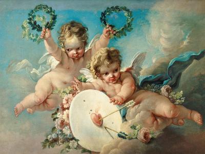 Cupid's Target-Francois Boucher-Giclee Print
