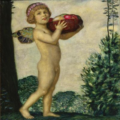 Cupid with Basket of Fruit, C. 1920-Franz von Stuck-Giclee Print
