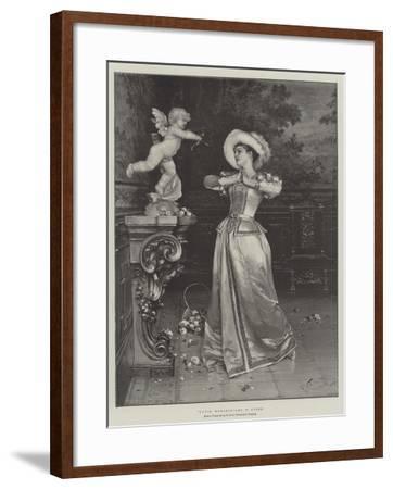 Cupid Worship-Francesco Vinea-Framed Giclee Print