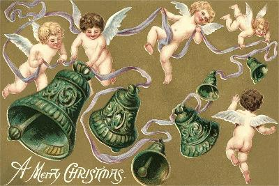 Cupids and Bell--Art Print