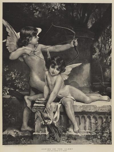 Cupids on the Alert--Giclee Print