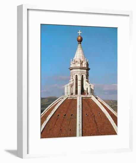Cupola, Designed-Filippo Brunelleschi-Framed Giclee Print