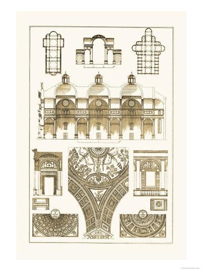 Cupola-Vaulting of the Renaissance-J^ Buhlmann-Art Print