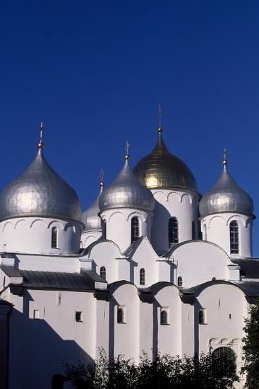 Cupolas of St Sophia Cathedral, 1045-1050--Photographic Print