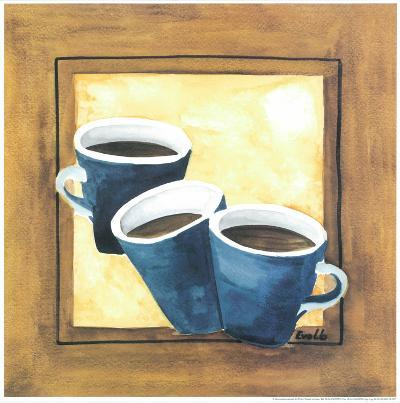 Cups Of Coffee III-Urpina-Art Print
