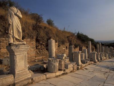 Curates Street in Ephesus, Turkey-Richard Nowitz-Photographic Print