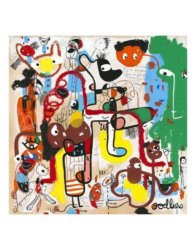 Curb Your Insta Gratification-Joi Murugavell-Art Print