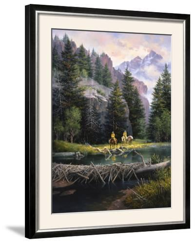 Cure of the Rockies-Jack Sorenson-Framed Photographic Print