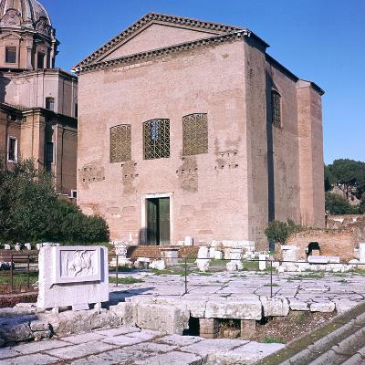 Curia of Diocletian, 1st Century Bc-CM Dixon-Photographic Print