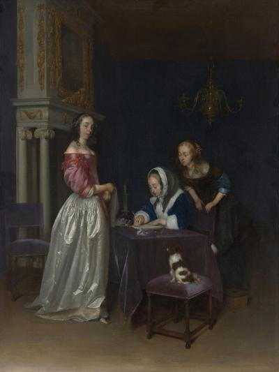 Curiosity, c.1660-62-Gerard ter Borch or Terborch-Giclee Print
